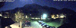 Archiv Foto Webcam Zöblen: Hotel Wildanger 22:00
