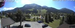 Archiv Foto Webcam Zöblen: Hotel Wildanger 08:00