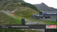 Archiv Foto Webcam Bergstation Reckmoos-Lift 04:00