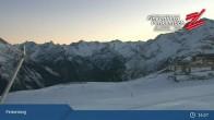 Archiv Foto Webcam Finkenberg: Penkenjoch (2.095 Meter) 19:00