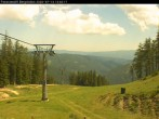 Archiv Foto Webcam Bergstation Panoramalift, Brunnalm Hohe Veitsch 08:00