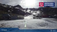 Archiv Foto Webcam Hochgurgl: Top-Express und Schermerbahn 09:00