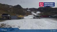 Archiv Foto Webcam Hochgurgl: Top-Express und Schermerbahn 13:00
