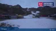 Archiv Foto Webcam Hochgurgl: Top-Express und Schermerbahn 17:00
