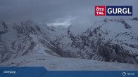 Archived image Webcam Obergurgl Ski Resort - Hohe Mut Mountain 23:00