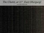 Archived image Webcam The Chalet at 11º East, Obergurgl 18:00