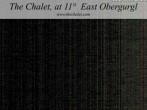 Archiv Foto Webcam Obergurgl - The Chalet at 11º East 18:00