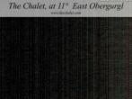 Archiv Foto Webcam Obergurgl - The Chalet at 11º East 20:00