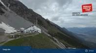 Archiv Foto Webcam Bergstation Seegrube 11:00