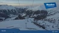 Archiv Foto Webcam Bergstation Zirmbahn (Nauders) 21:00