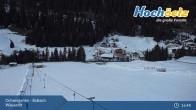 Archived image Webcam Hochoetz Wiesen Ski lift 19:00