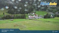 Archived image Webcam Hochoetz Wiesen Ski lift 01:00