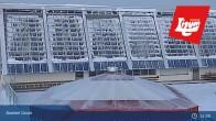 Archiv Foto Webcam Axamer Lizum: Blick vom Panoramarestaurant Hoadl-Haus 19:00