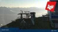 Archiv Foto Webcam Axamer Lizum: Blick vom Panoramarestaurant Hoadl-Haus 01:00