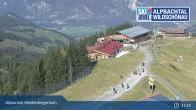 Archiv Foto Webcam Bergstation Pöglbahn am Wiedersbergerhorn 05:00