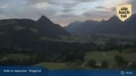 Archiv Foto Webcam Pinzgerhof - Brunnerberg 21:00