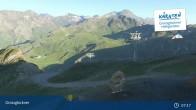 Archiv Foto Webcam Schareck auf 2606 m 01:00