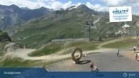 Archiv Foto Webcam Schareck auf 2606 m 09:00