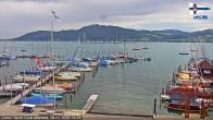 Archiv Foto Webcam Union Yacht Club Attersee 08:00