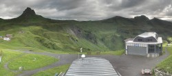 Archived image Webcam Panoramic View Damüls – Top station Uga Express 02:00