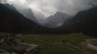 Archived image Webcam Dolomitenhof Sexten - Cross-Country Skiing Trail 02:00