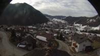 Archiv Foto Webcam Royal Hotel im Skigebiet Alta Badia 02:00