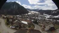Archiv Foto Webcam Royal Hotel im Skigebiet Alta Badia 04:00