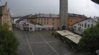 Archiv Foto Webcam Stadtplatz Sterzing | Piazza Città Vipiteno 10:00