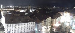 Archiv Foto Webcam Graz Rathaus 22:00