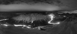 Archiv Foto Webcam St. Moritz / Piz Nair Bergstation 23:00