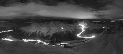 Archiv Foto Webcam St. Moritz / Piz Nair Bergstation 01:00