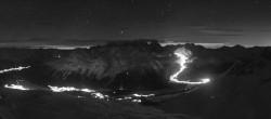 Archiv Foto Webcam St. Moritz / Piz Nair Bergstation 03:00
