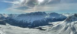 Archiv Foto Webcam St. Moritz / Piz Nair Bergstation 09:00