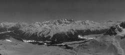 Archiv Foto Webcam St. Moritz / Piz Nair Bergstation 18:00