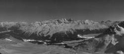 Archiv Foto Webcam St. Moritz / Piz Nair Bergstation 20:00