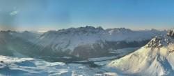 Archiv Foto Webcam St. Moritz / Piz Nair Bergstation 02:00
