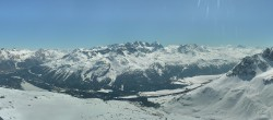 Archiv Foto Webcam St. Moritz / Piz Nair Bergstation 08:00