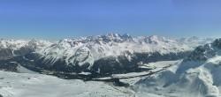 Archiv Foto Webcam St. Moritz / Piz Nair Bergstation 10:00