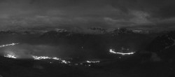 Archiv Foto Webcam St. Moritz / Piz Nair Bergstation 22:00