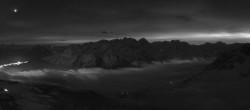 Archiv Foto Webcam St. Moritz / Piz Nair Bergstation 00:00