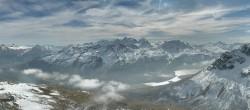 Archiv Foto Webcam St. Moritz / Piz Nair Bergstation 06:00