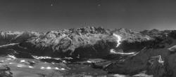 Archived image Webcam St. Moritz / Top Station Piz Nair 18:00