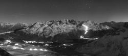 Archived image Webcam St. Moritz / Top Station Piz Nair 20:00
