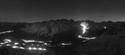 Archived image Webcam St. Moritz / Top Station Piz Nair 22:00