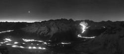 Archived image Webcam St. Moritz / Top Station Piz Nair 00:00