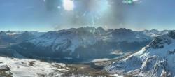 Archived image Webcam St. Moritz / Top Station Piz Nair 04:00
