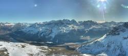 Archived image Webcam St. Moritz / Top Station Piz Nair 06:00