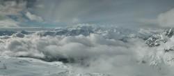 Archived image Webcam St. Moritz / Top Station Piz Nair 02:00