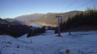 Archiv Foto Webcam Skigebiet Weissensee - Bergstation 02:00
