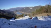 Archiv Foto Webcam Skigebiet Weissensee - Bergstation 04:00